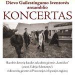 KONCERTAS Vilniaus Dievo gailestingumo šventovės ansamblis