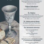 Velykų Tridienio ir Velykų šventės tvarka