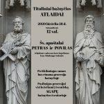Šv. apaštalai Petras ir Povilas. Tituliniai bažnyčios atlaidai